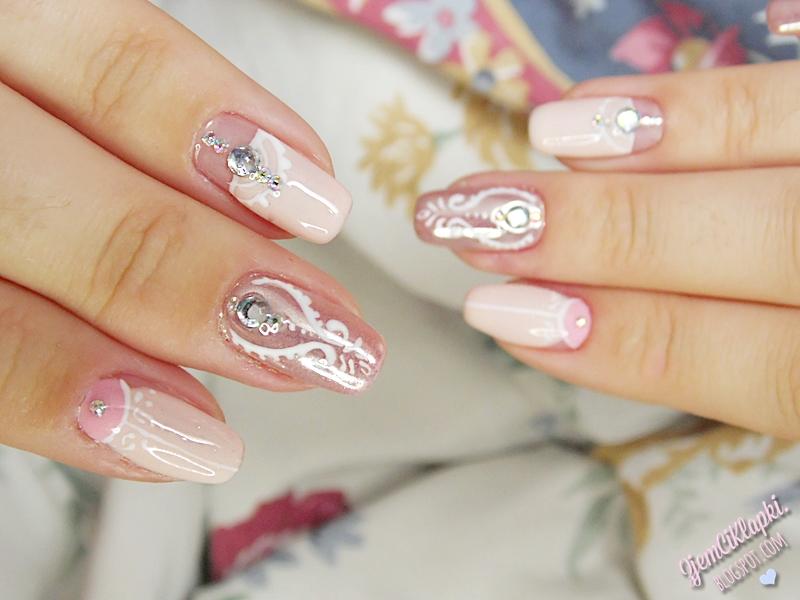 Manicure ślubny z lakierami Evo Nails