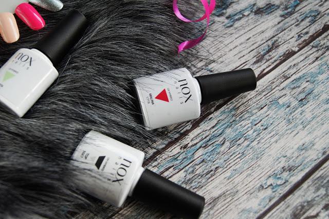 NOX Nails lakiery hybrydowe moja opinia