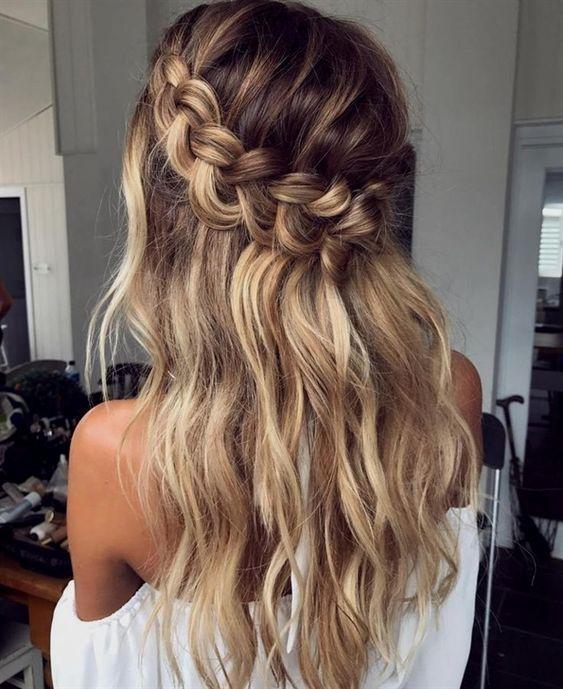 Długie włosy z ombre