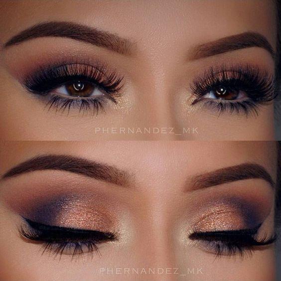 Efektowny makijaż oczu