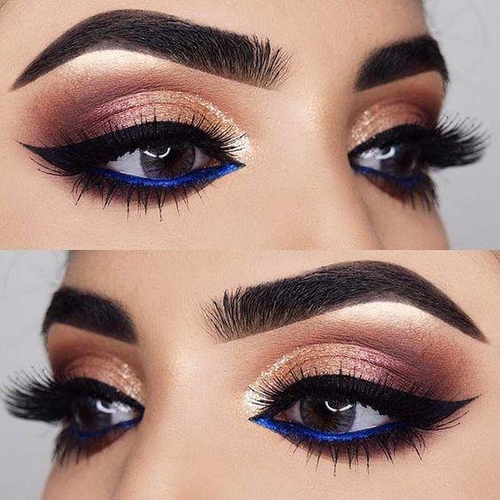 Inspiracje na mocny makijaż oczu