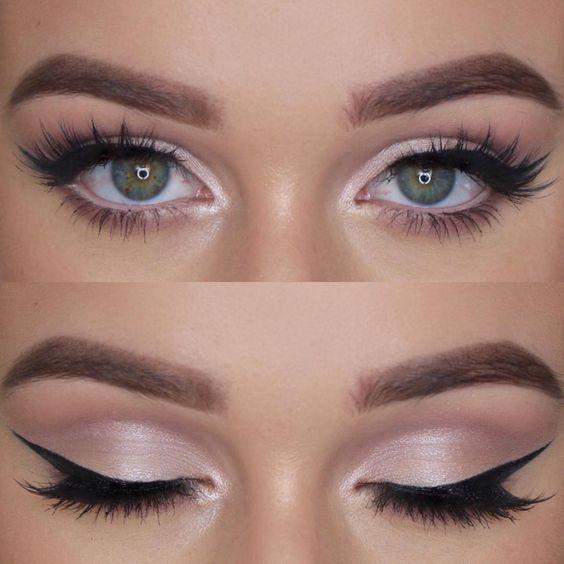 Naturalny makijaż oczu
