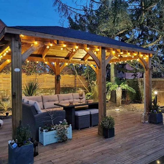 Pomysły na drewniane altanki ogrodowe