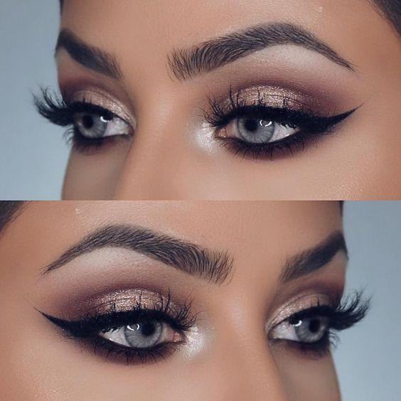 Pomysły na makijaż oczu