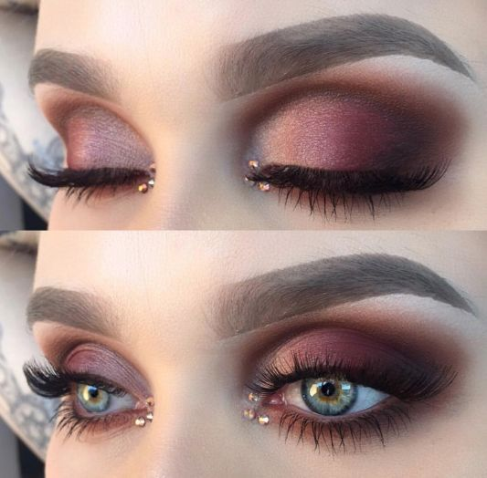Wyrazisty makijaż oczu